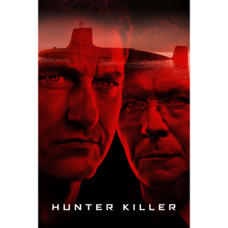 Hunter Killer 4K UHD Digital Movie Code!ACTUAL CODE NOT INSTAWATCH!