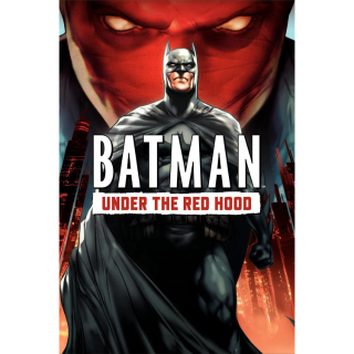 Batman: Under the Red Hood HD Digital Movie Code AND Digital Comic Book Code!