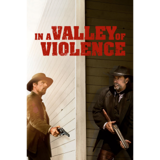 In a Valley of Violence HD Digital Movie Code