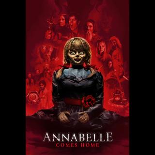 Annabelle Comes Home HD Digital Movie Code!