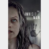 The Invisible Man 4K UHD Digital Movie Code!!