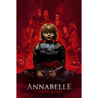 Annabelle Comes Home HD Digital Movie Code!