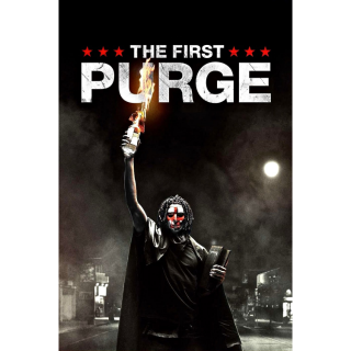 The First Purge4K UHD Digital Movie Code!