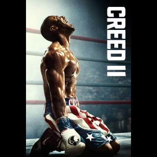 Creed II 4K UHD Digital Movie Code!