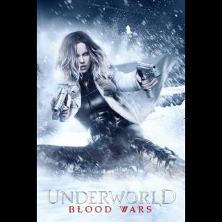 Underworld: Blood Wars 4K UHD Digital Movie Code! ACTUAL CODE NOT INSTAWATCH!