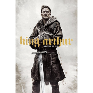 King Arthur: Legend of the Sword HD Digital Movie Code!