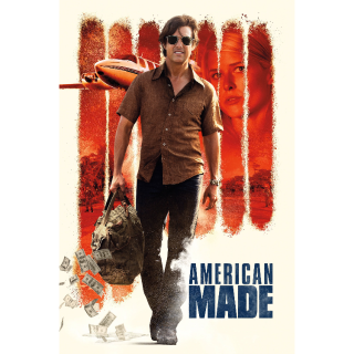 American Made 4K UHD Digital Movie Code! ACTUAL CODE NOT INSTAWATCH!