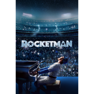 Rocketman HD Digital Movie Code!