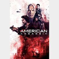 American Assassin HD DIGITAL MOVIE CODE!