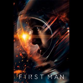 First Man 4K UHD Digital Movie Code!
