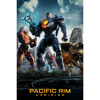 Pacific Rim: Uprising 4K UHD Digital Movie Code!