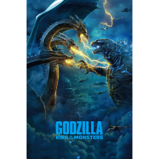 Godzilla: King of the Monsters 4K UHD Digital Movie Code!