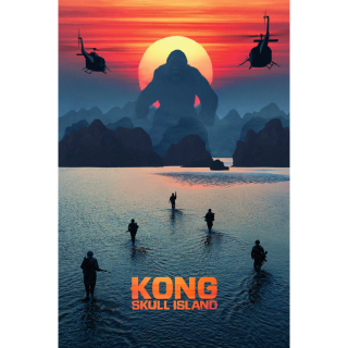 Kong: Skull Island 4K UHD Digital Movie Code!
