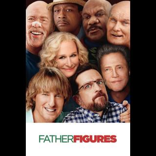 Father Figures HD Digital Movie Code!