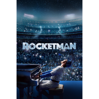 Rocketman HD Digital Movie Code!