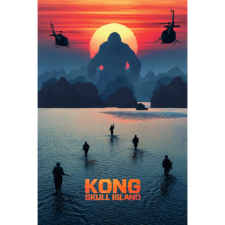 Kong: Skull Island HD Digital Movie Code!