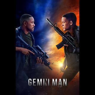 Gemini Man 4K UHD Digital Movie Code! ACTUAL CODE NOT INSTAWATCH!