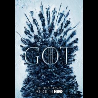 HBO GAME OF THRONES SEASON 8 HD DIGITAL CODE!