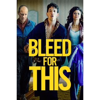 Bleed for This HD Digital Movie Code!