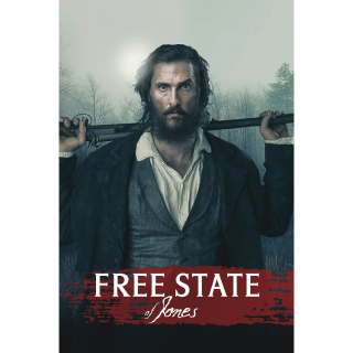 Free State of Jones HD Digital Movie Code!