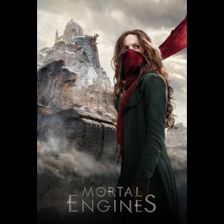 Mortal Engines HD Digital Movie Code!