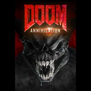 Doom: Annihilation HD Digital Movie Code!
