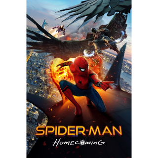 Spider-Man: Homecoming 4K UHD Digital Movie Code!