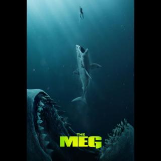 The Meg 4K UHD Digital Movie Code!