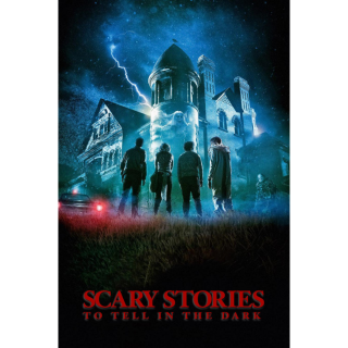 Scary Stories to Tell in the Dark 4K UHD Digital Movie Code! ACTUAL CODE NOT INSTAWATCH!