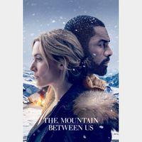 The Mountain Between Us FULL HD DIGITAL MOVIE CODE!!