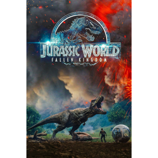 Jurassic World: Fallen Kingdom   4K DIGITAL MOVIE CODE   4K  4K!!