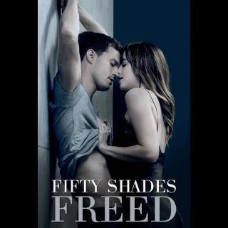 Fifty Shades Freed 4K UHD Digital Movie Code!!