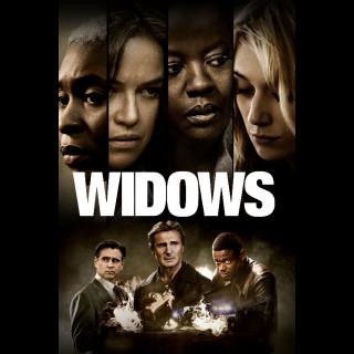 Widows 4K UHD Digital Movie Code!