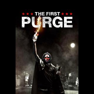 The First Purge HD Digital Movie Code!