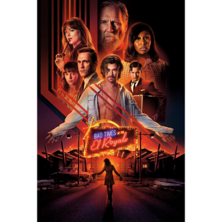 Bad Times at the El Royale HD Digital Movie Code!