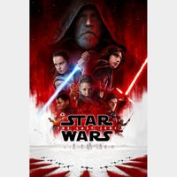 Star Wars: The Last Jedi FULL HD DIGITAL MOVIE CODE!!