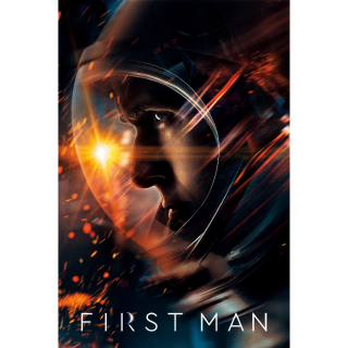 First Man 4K UHD Digital Movie Code!