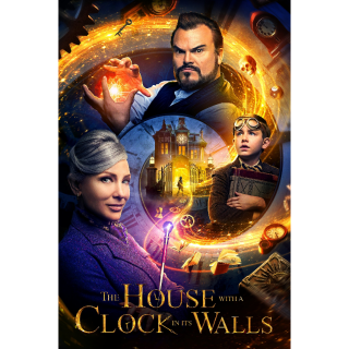 The House with a Clock in Its Walls 4K UHD Digital Movie Code!