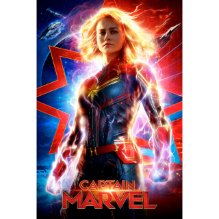 Captain Marvel HD Digital Movie Code!