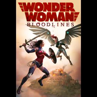 Wonder Woman: Bloodlines HD Digital Movie Code!