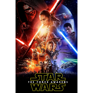 Star Wars: The Force Awakens HD Digital Movie Code!