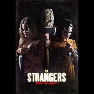 The Strangers: Prey at Night HD Digital Movie Code!
