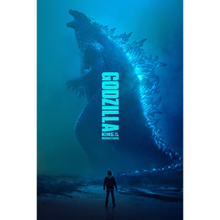 Godzilla: King of the Monsters HD Digital Movie Code!