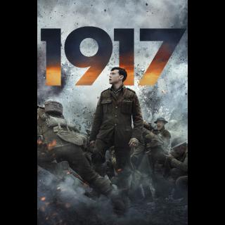 1917 4K UHD Digital Movie Code!!