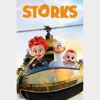 Storks HD Digital Movie Code!!