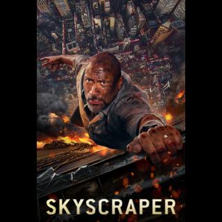 Skyscraper 4K UHD Digital Movie Code!
