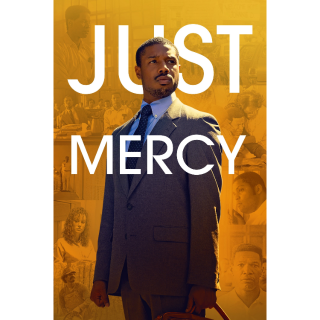 Just Mercy  FULL HD DIGITAL MOVIE CODE!!