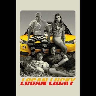 Logan Lucky 4K UHD Digital Movie Code!!!