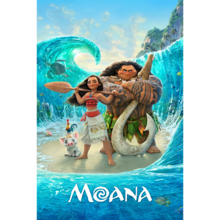 Disney Moana HD Digital Movie Code!
