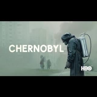 CHERNOBYL 5-PART HBO MINISERIES HD DIGITAL MOVE CODE!